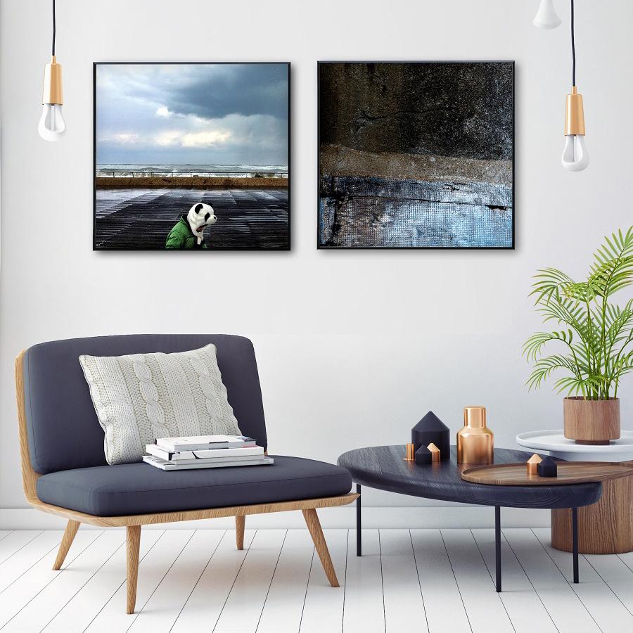 אומנות במסגרת | תמונות מעוצבות לבית