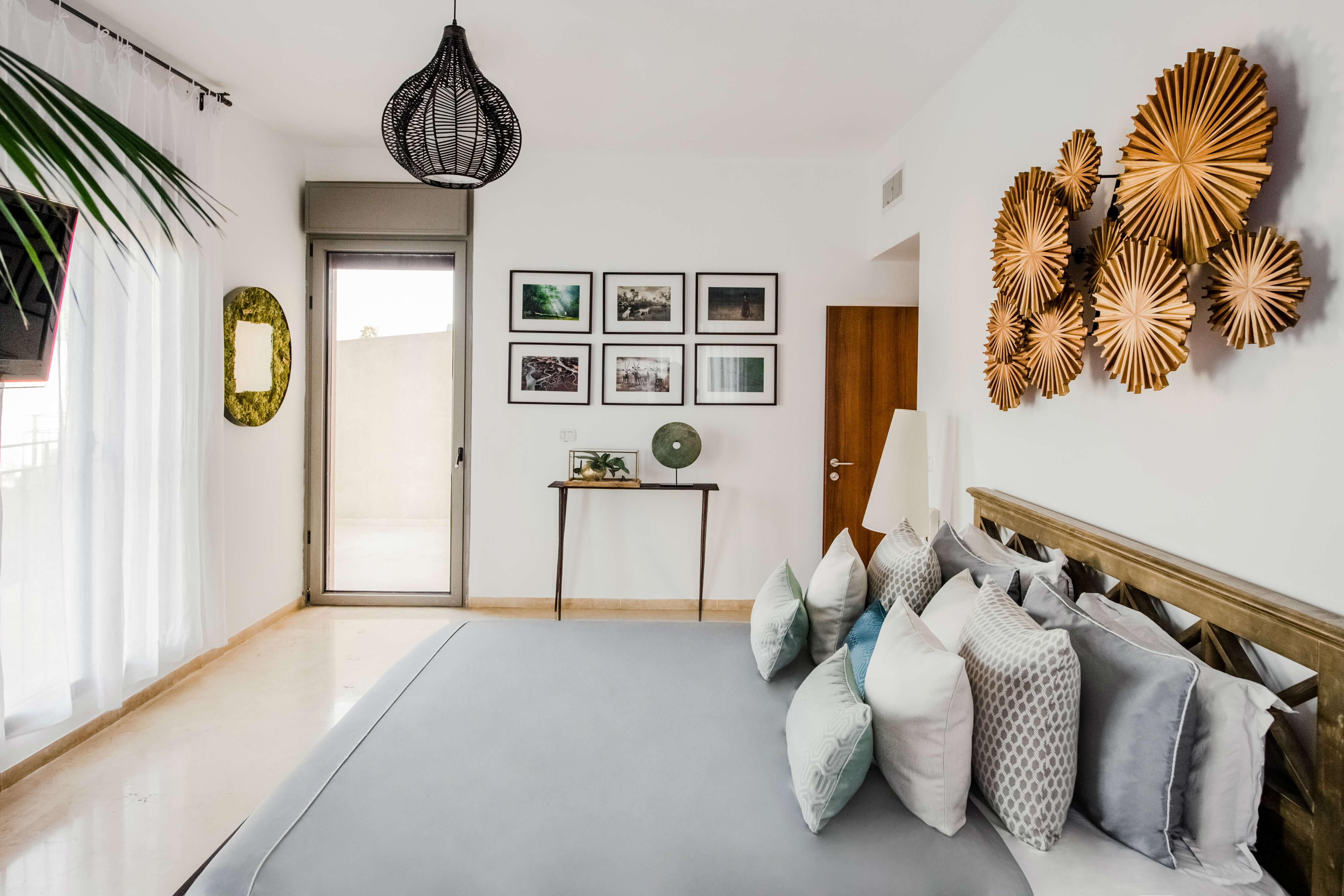 עיצוב חדר שינה לדירה בתל אביב