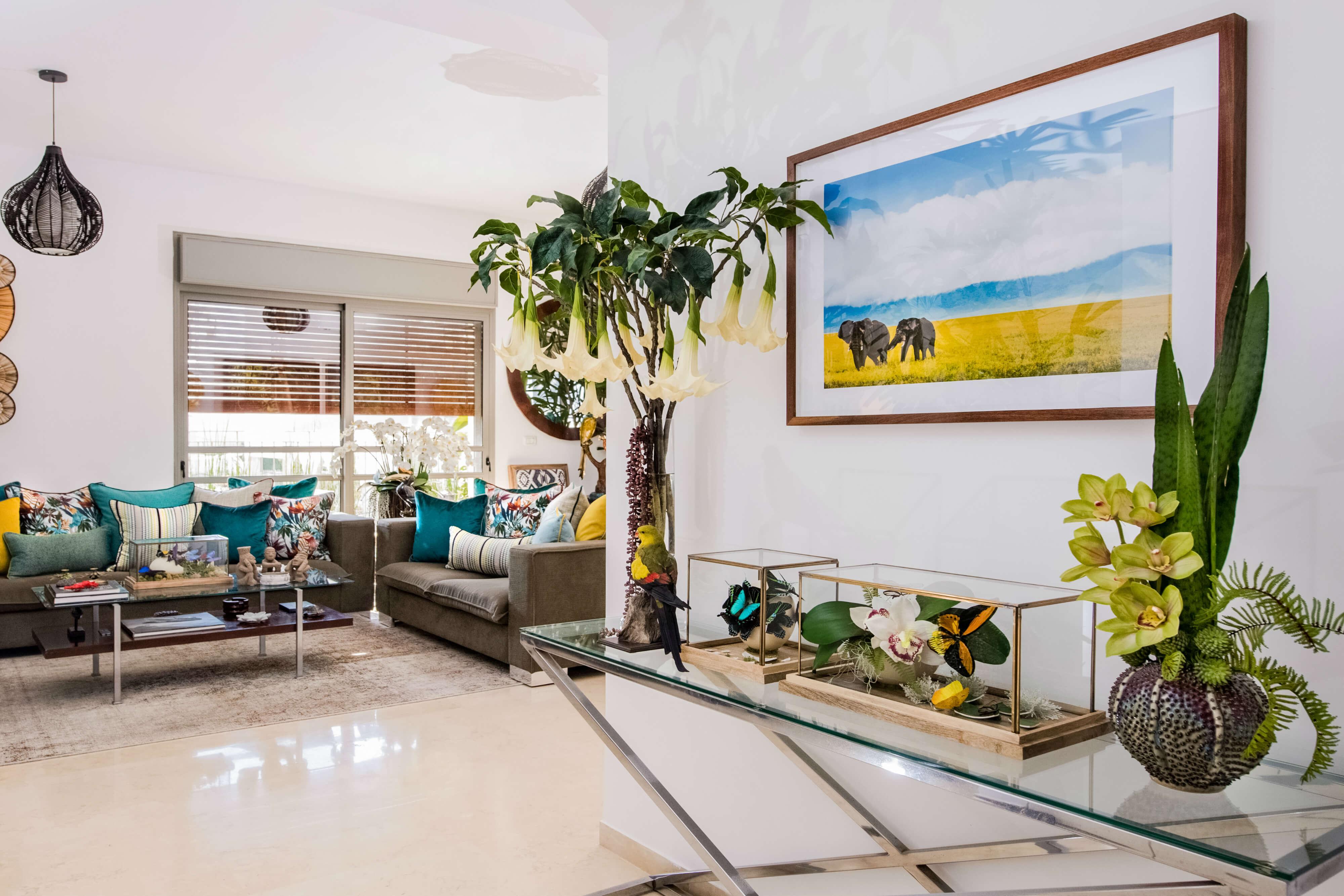 הום סטיילינג לדירה בתל אביב