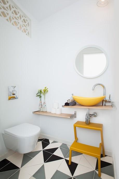 עיצוב פנים מקלחת בדירה בתל אביב