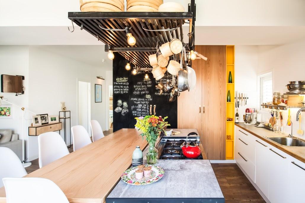 עיצוב מטבח דירה קטנה בתל אביב
