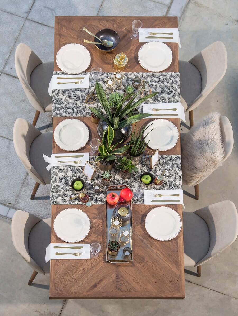 שולחן מעוצב לחג