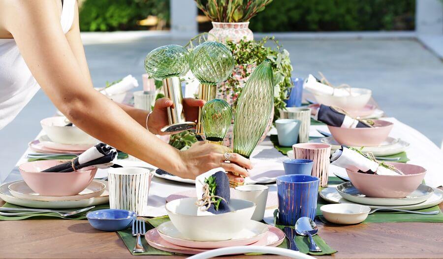 עיצוב שולחן ישראלי לחג