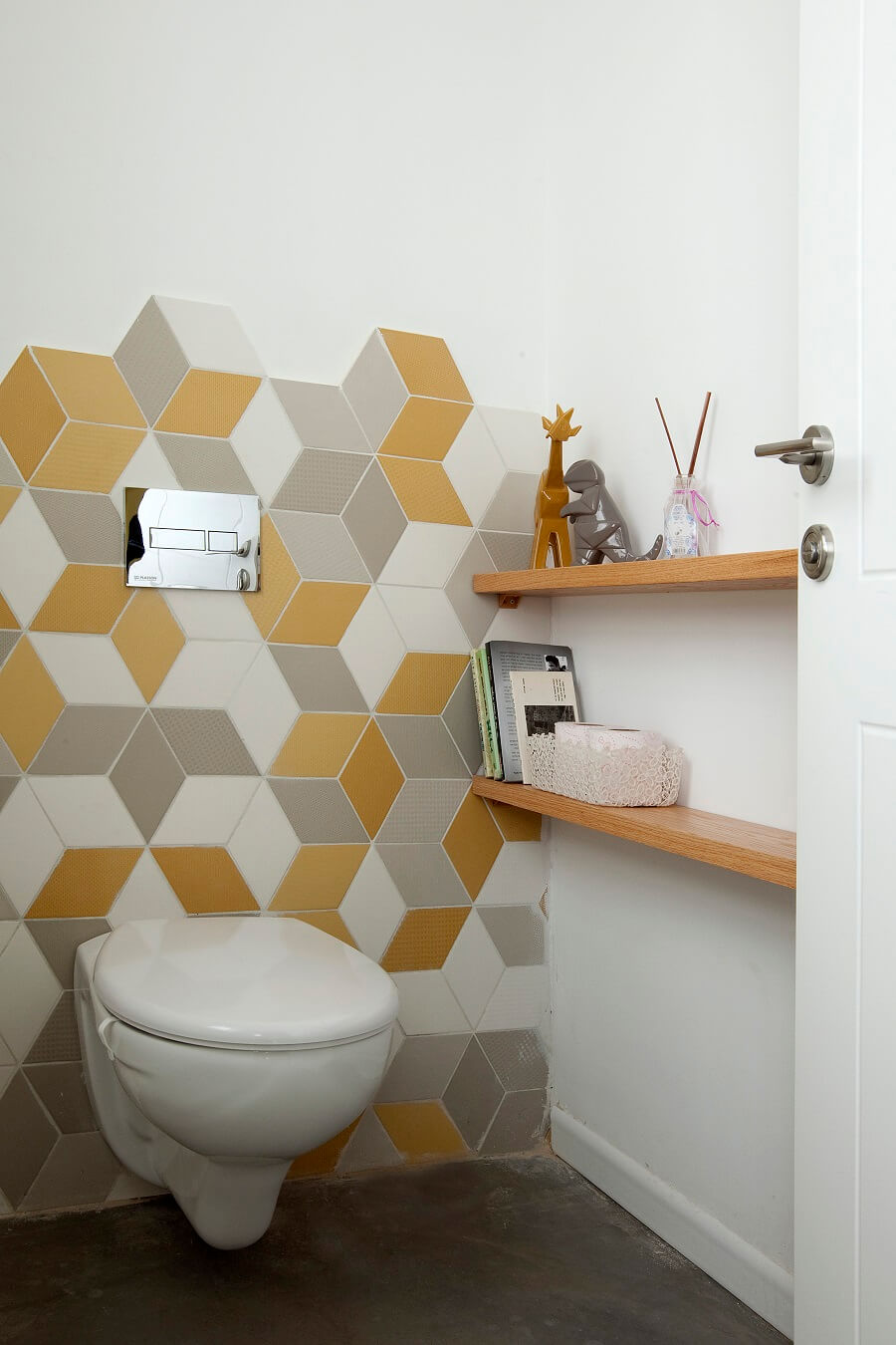 חדר שירותים מעוצב