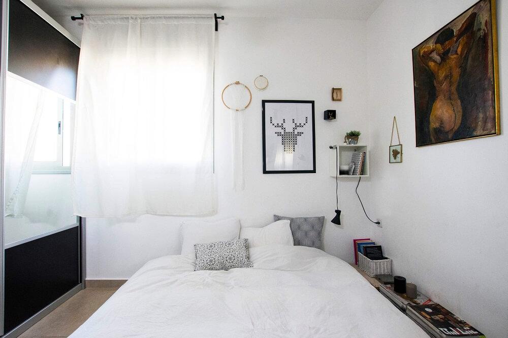 חדר שינה נורדי