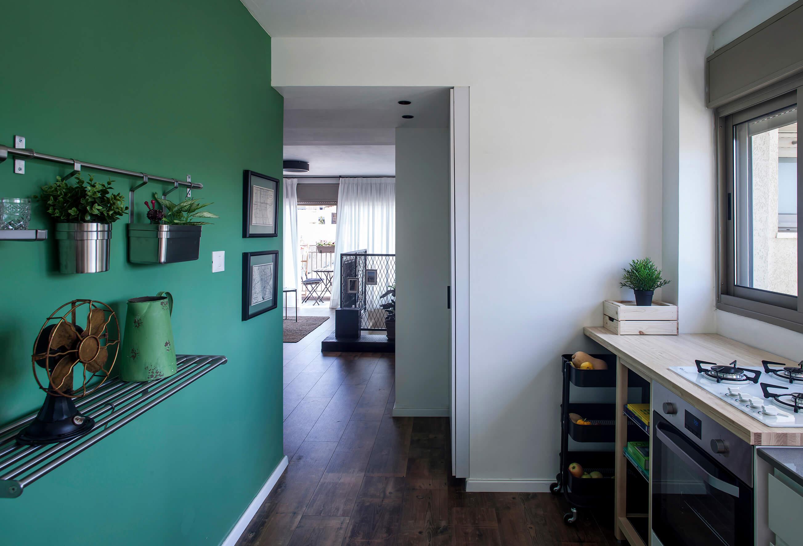 עיצוב דירה שכורה