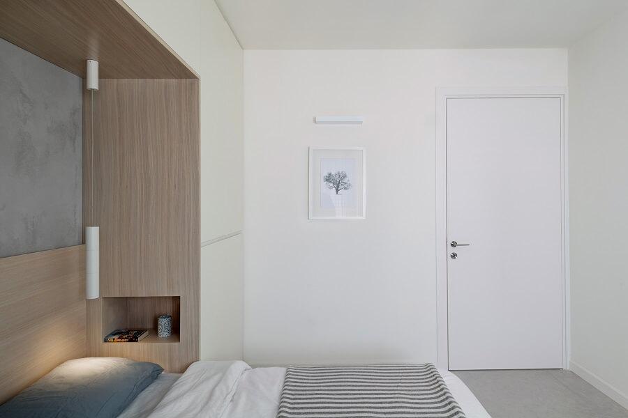 עיצוב חדר שינה נורדי
