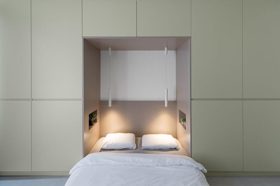 עיצוב חדר שינה מנימליסטי