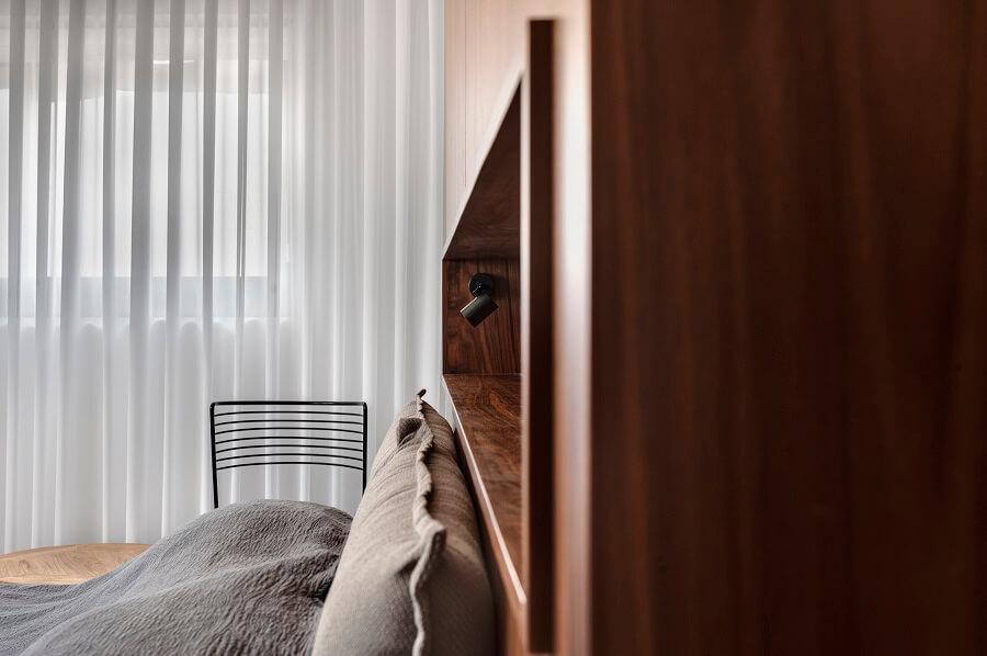 עיצוב חדר שינה בדירת דופלקס