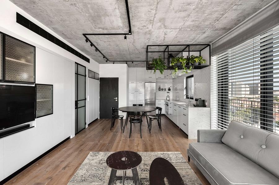 עיצוב דירת דופלקס