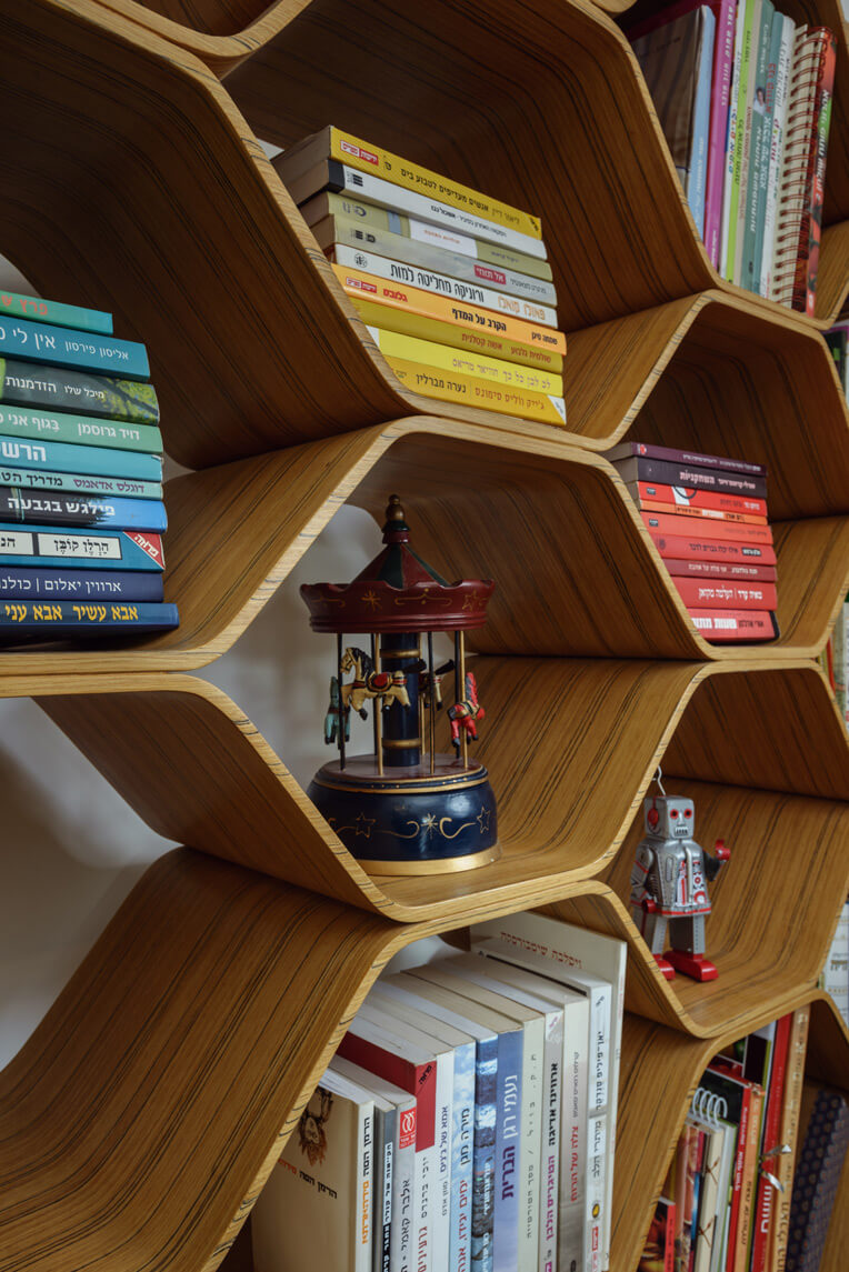 ספריה בצורת כוורת