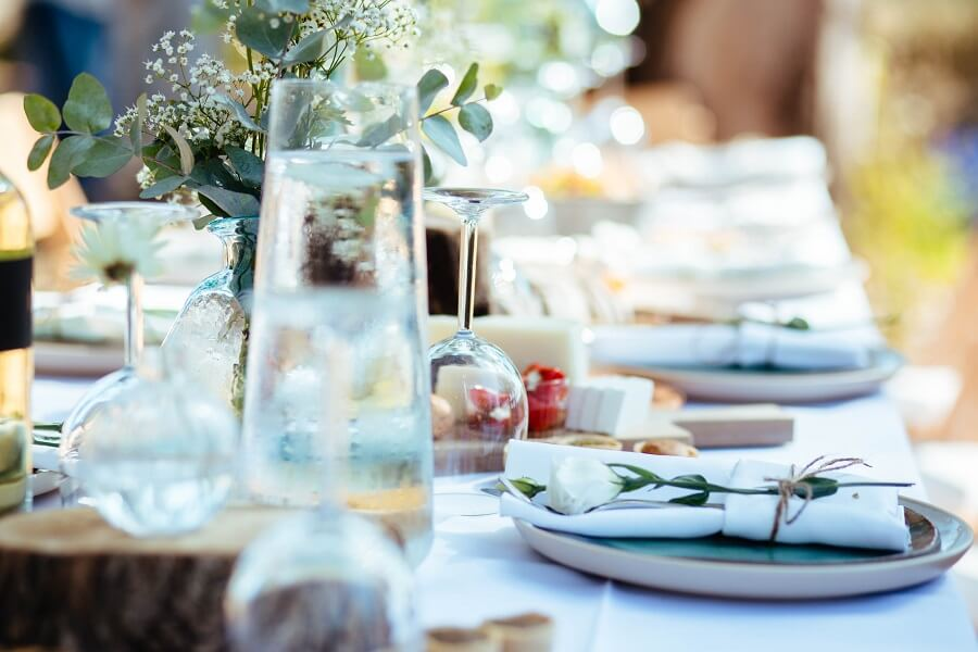 שולחן חג מעוצב