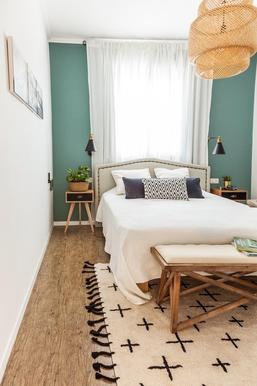 חדר הורים בסגנון נורדי