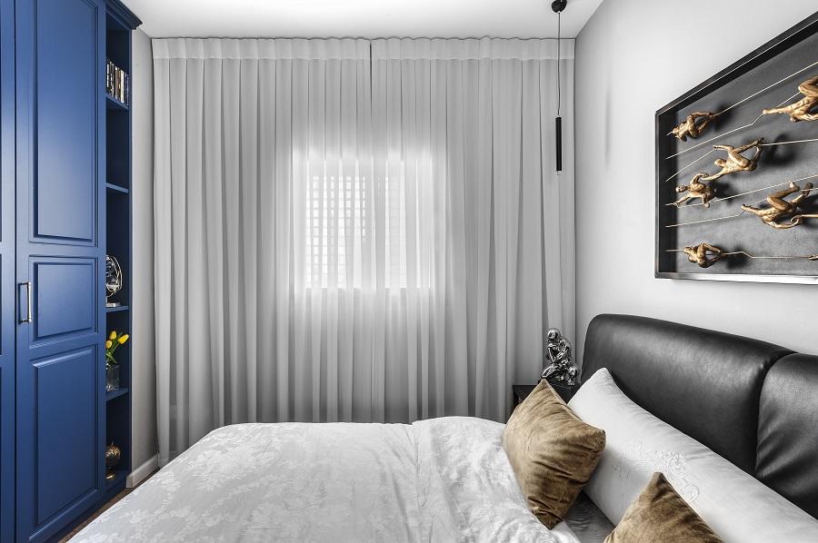 חדר שינה | עיצוב בן רזניאלי | צילום עודד סמדר