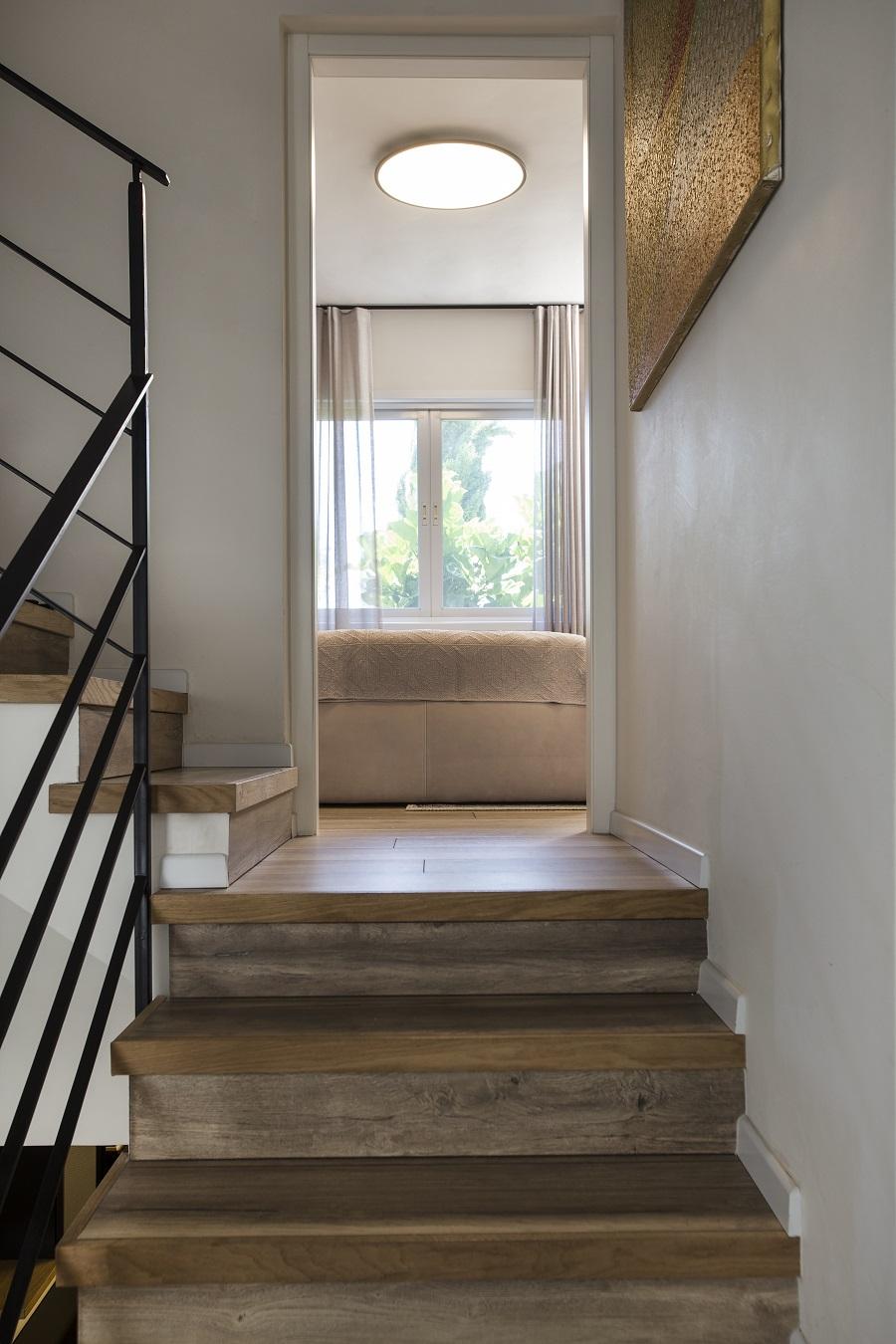 פרקט עץ מדרגות