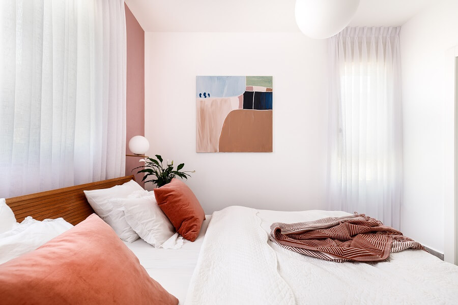 חדר הורים עיצוב פנים נטלי אלל צילום אורית ארנון