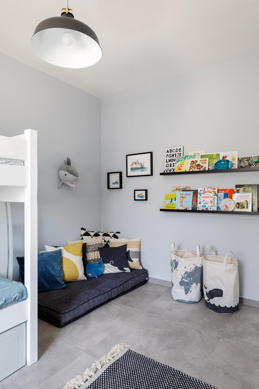 חדר ילדים עיצוב פנים נטלי אלל צילום אורית ארנון