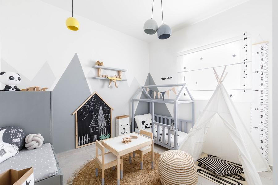 חדר תינוק עיצוב לימור אורן צילום אורית ארנון