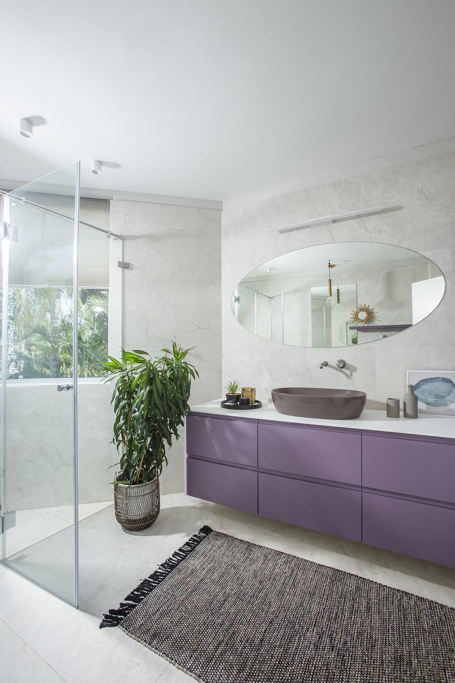 עיצוב לילך לויט | חדר רחצה מעוצב