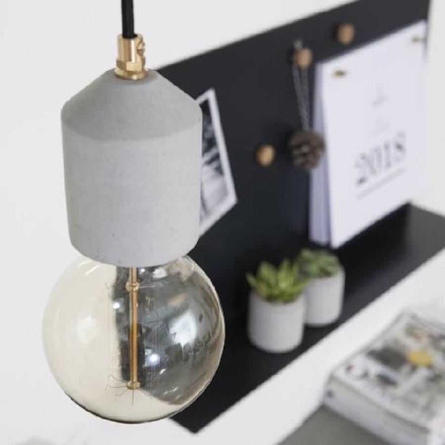 מנורת בטון | קולקטי | צילום הגר דופלט