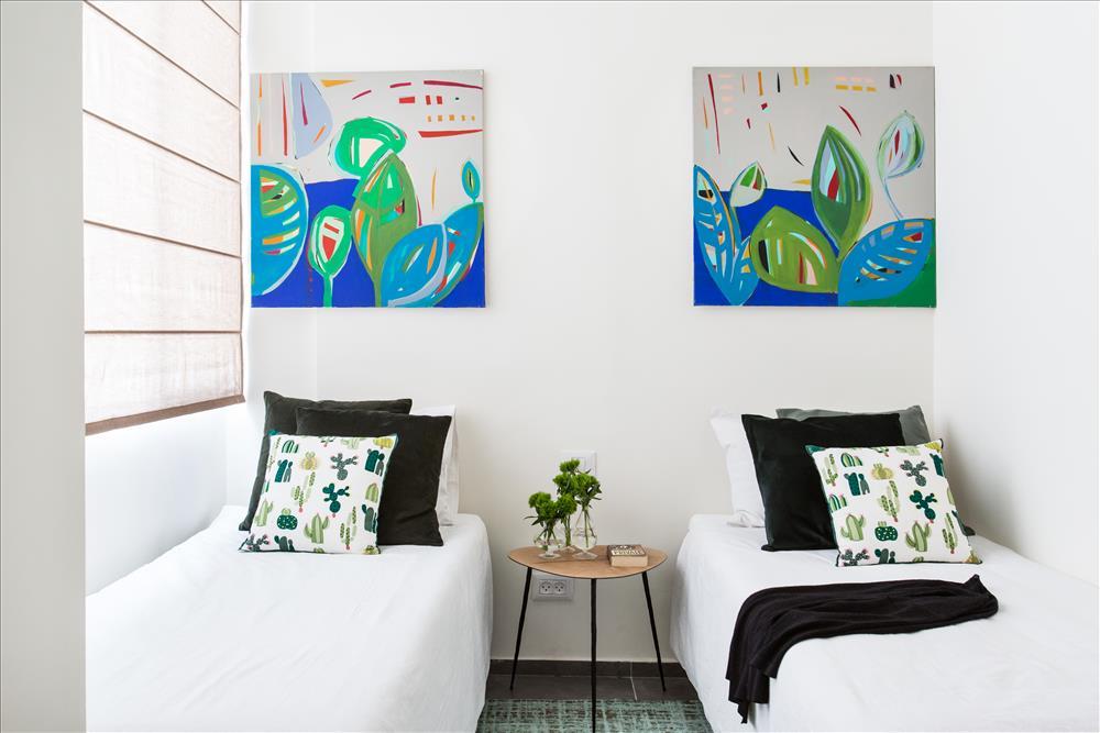 עיצוב חדר אורחים: יטי סלסקי | צילום: שירן כרמל
