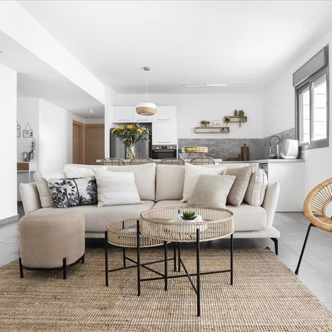 דירה מלבבת למשפחה מתרחבת