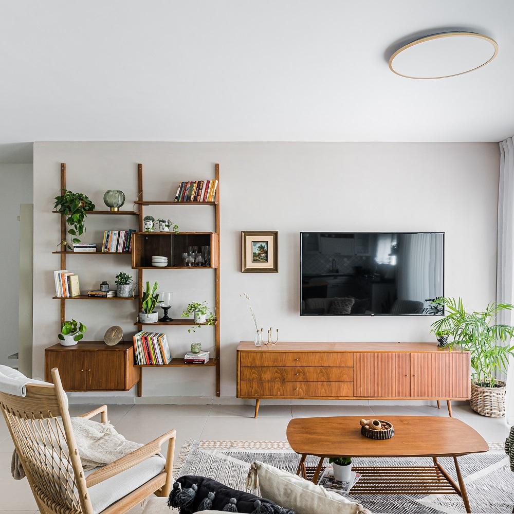 עיצוב דירה מדהים לזוג דיירים מרגשים