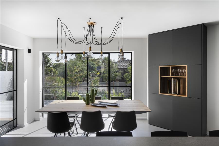 עיצוב אלל אדריכלות | צילום עודד סמדר | פרופיל ברזל
