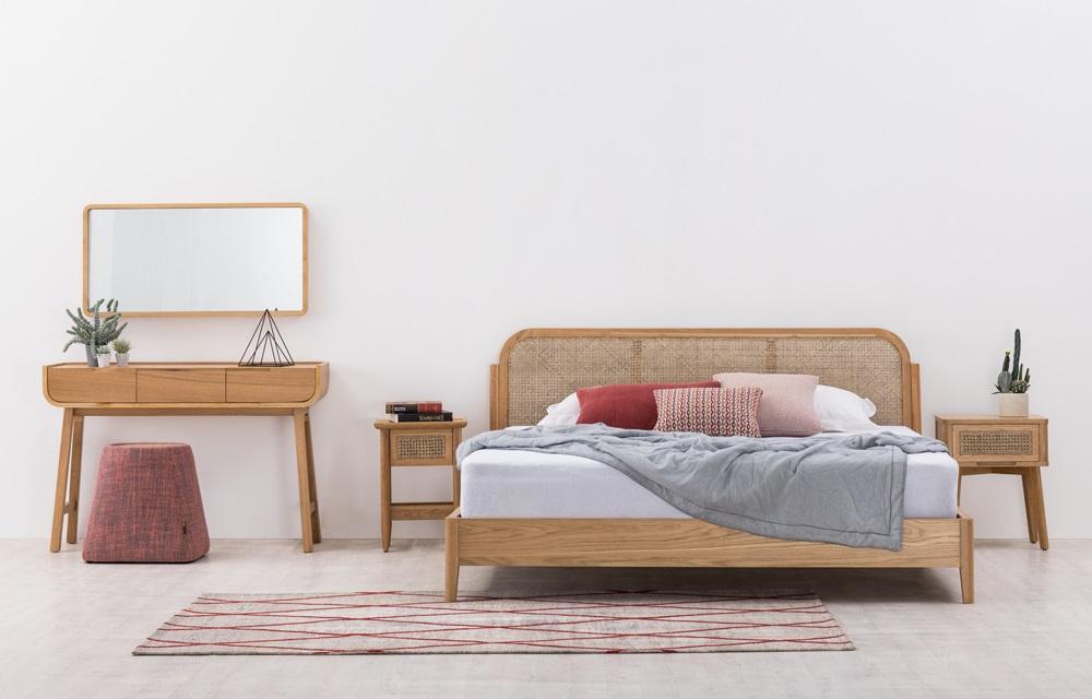 סימפלי ווד | מיטת ratten