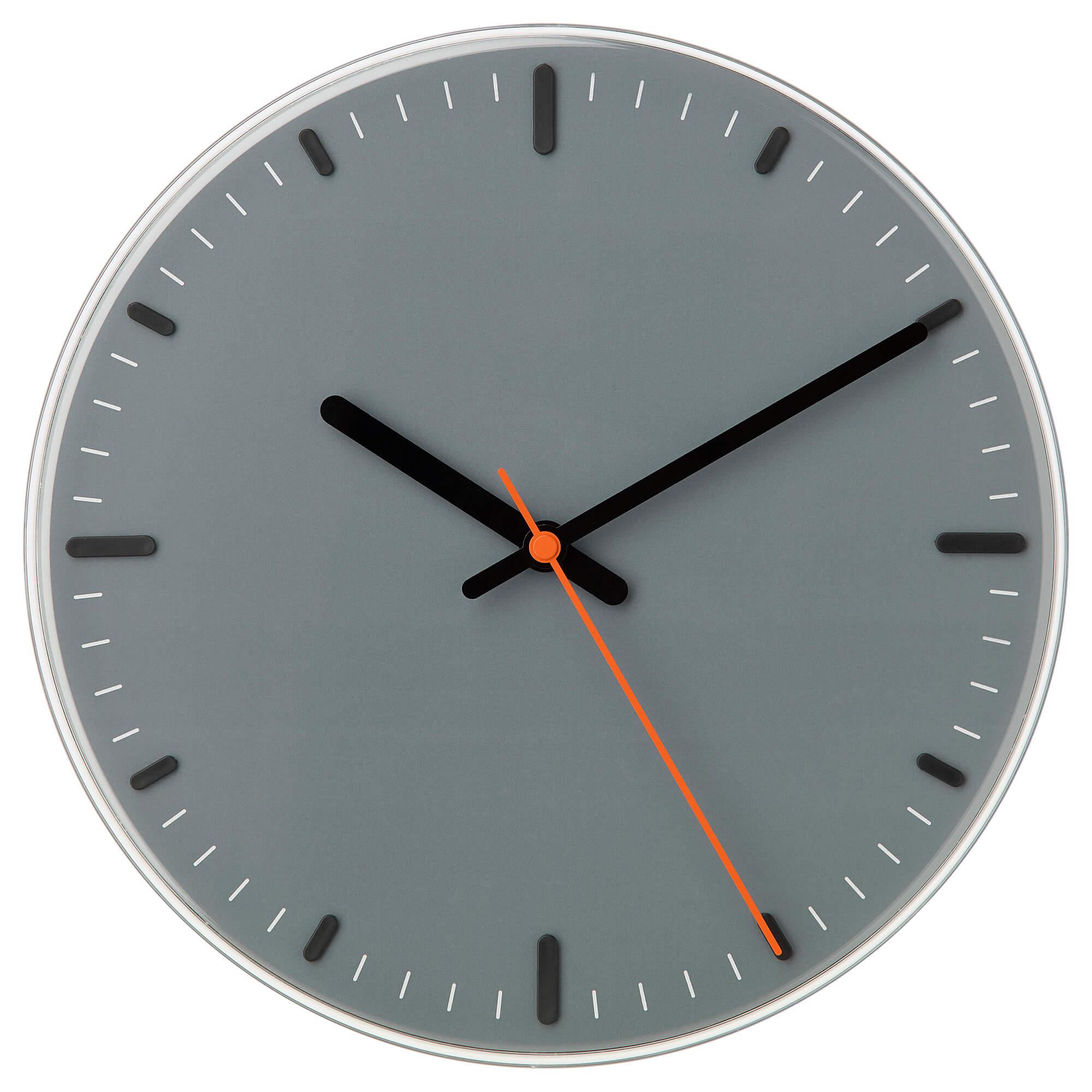 שעון קיר איקאה SVAJPA